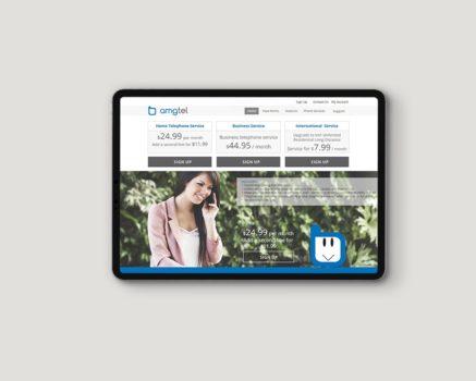 Amgtel – Website