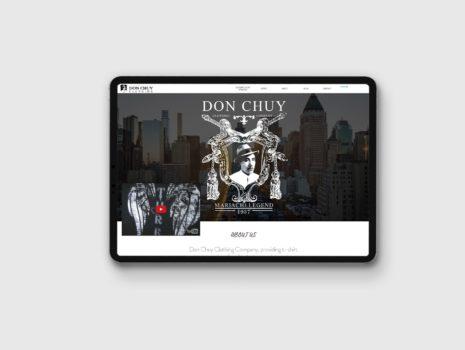 Don Chuy – Website