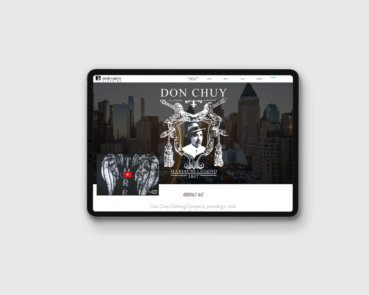 Don Chuy – Website