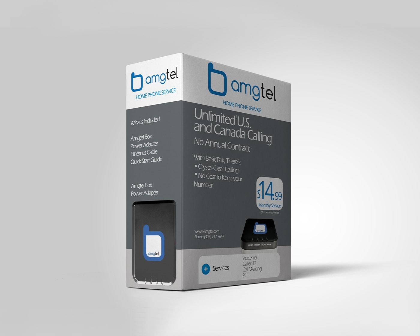 Amgtel – Packaging