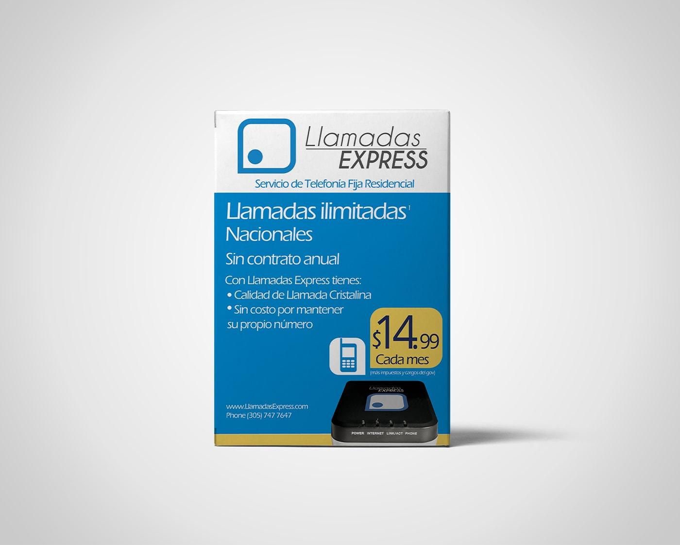 Llamadas Express – Packaging